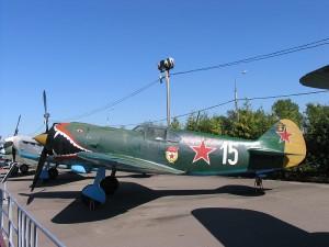Ла-5 в музее на Поклонной горе
