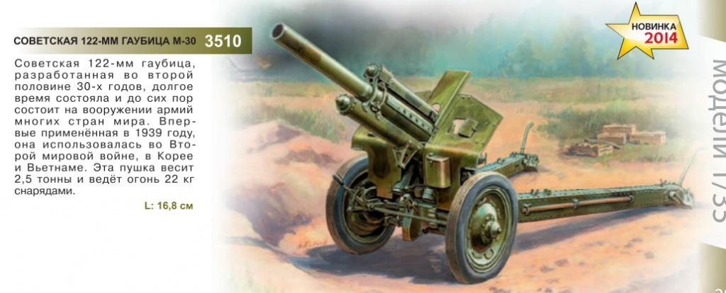 Современная военная техника Гаубица М - 30
