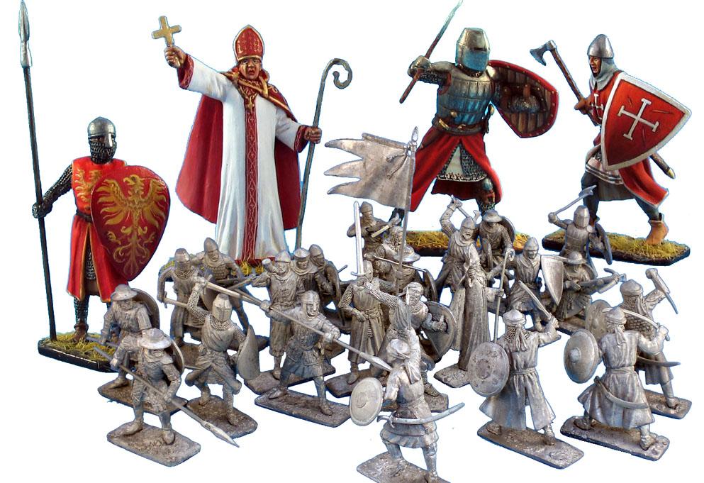 Крестоносцы vs Сарацины