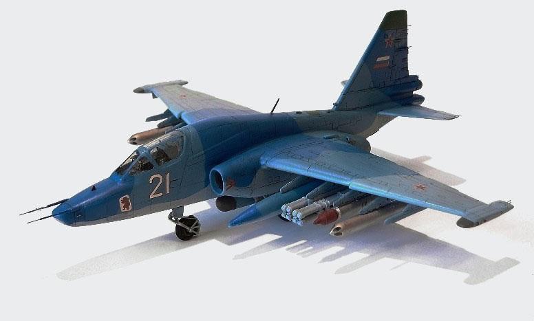 Су 39   Российский штурмовик от Звезды 1/72