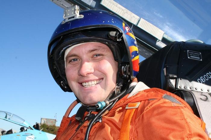 Летчик палубной авиации России