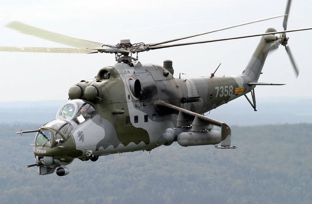 """Хищный красавец Ми-24 В """"Крокодил"""""""