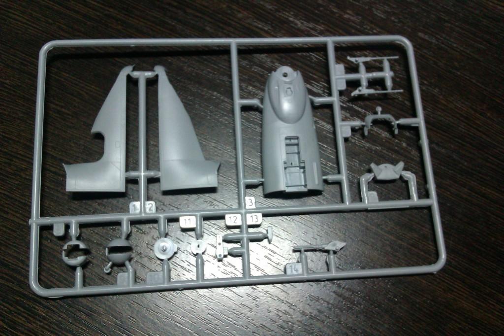 1й литник модели