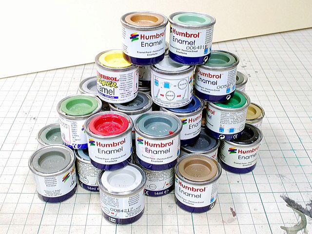 Эмалевые краски Humbrol