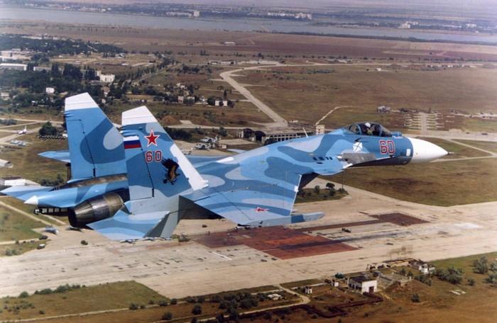"""Су-33 на тренажере """"Нитка"""""""