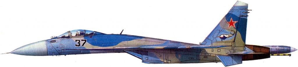 Су-33 (Су-27К) Бортовой номер 37
