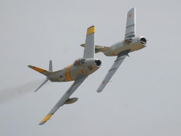 MiG 15'Fagot' F 86Sabre