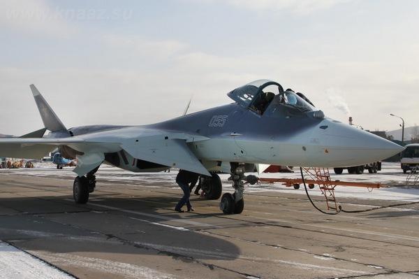 ПАК ФА Т-50-5