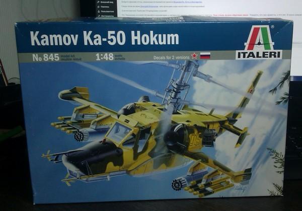 Kamov Ka-50 1-48 Italeri