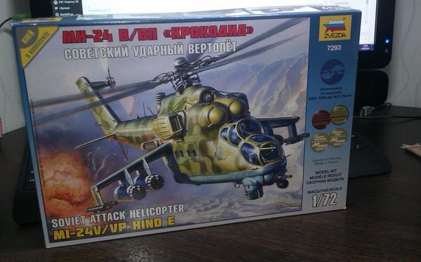 Mil Mi-24 V-VP 1-72 Zvezda