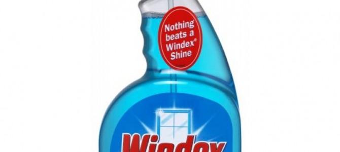 Стеклоочиститель Windex: Удаляем акриловую краску с модели