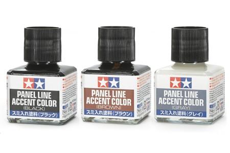 Как работать со смывкой Tamiya Panel Line Accent Color