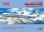 Ильюшин Ил-62 М: 1/144: ICM: Конкурирующая новинка 2015 года