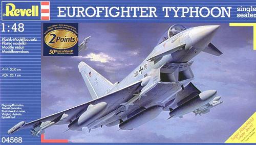 Eurofighter Typhoon Single Seater revell