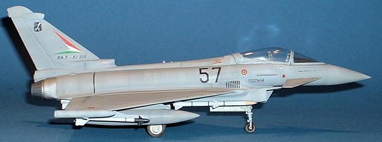 "Italeri 2610 Eurofighter EF-2000 ""Typhoon"" Single seater"