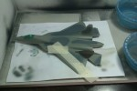 ПАК ФА Т-50: 1/72: Звезда: Шаг 7: Гибрид F-22 Raptor и Ту-22