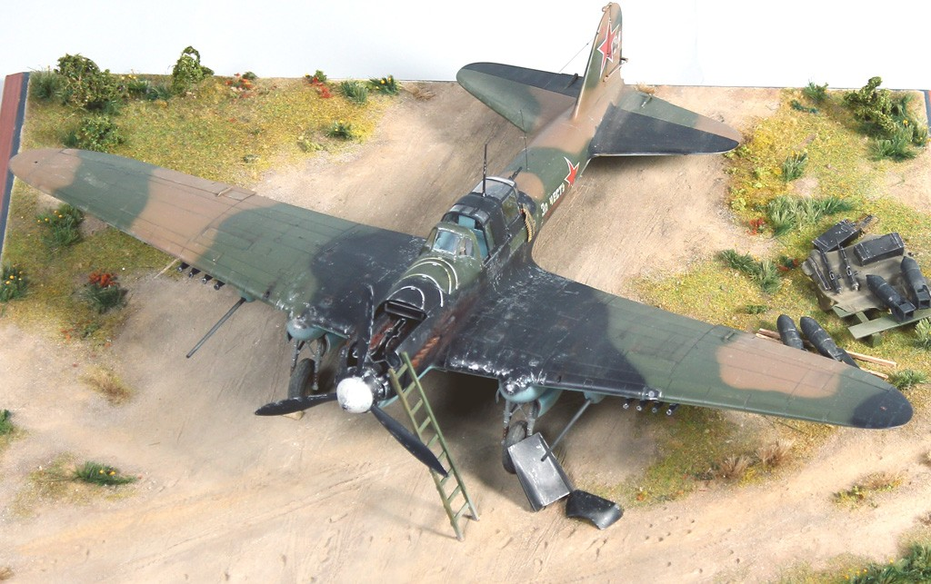 IL-2M Ground Attack Aircraft: 1/32: Hobby Boss
