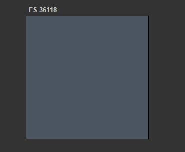 A.MIG-204 FS 36118 Medium Gunship Gray
