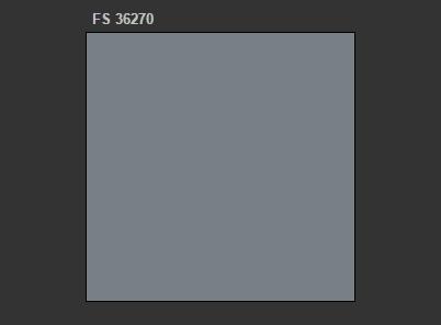 A.MIG-211 FS 36270 Medium Gray
