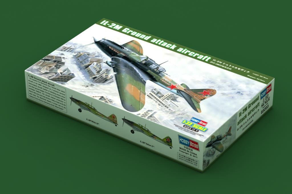 IL-2M Ground Attack Aircraft 1/32 Hobby Boss