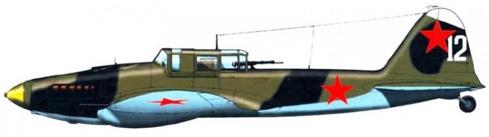 Штурмовик Ил-2 М: Схемы