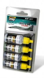 Набор 7204: MiG & SU colors: AMMO: Окрашиваем советскую авиацию
