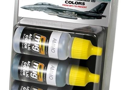 Набор 7201: US NAVY colors: AMMO: Современные цвета авиации ВМС США