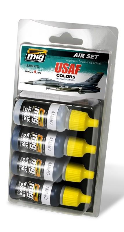 Набор 7202: USAF colors: AMMO: Основные цвета ВВС США
