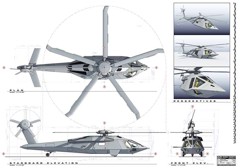 Stealth Helicopter Operation Jeronimo: 1/144: Dragon:
