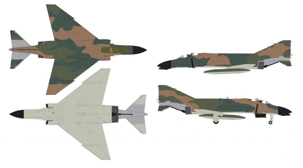 Набор 47202: АКАН: Авиация США - Вьетнамская война