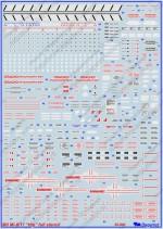 Миль Ми-8/17: 1/35: Бегемот : 35-001: Обзор декали с техничкой для Ми-8