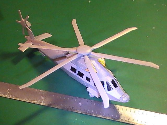 Stealth Helicopter Operation Jeronimo: 1/144: Dragon