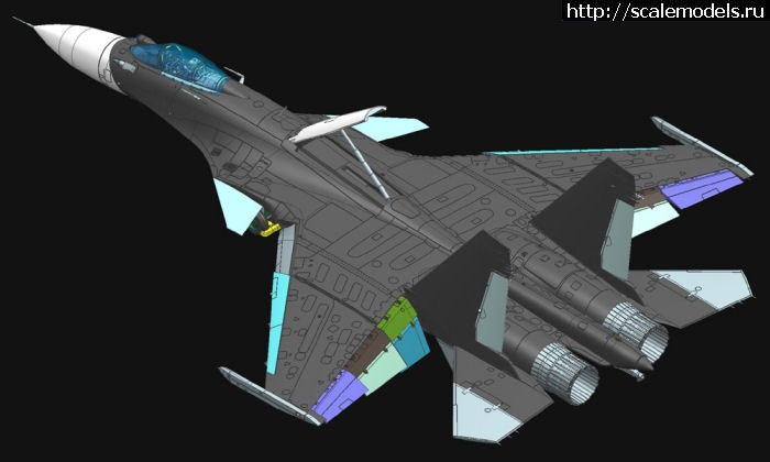 Сухой Су-33 Flanker D: 1/48: Aviation Art Model Kits