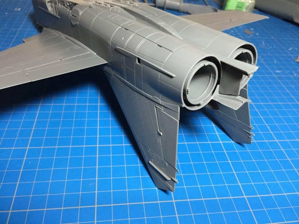 Микоян Миг-31БМ Foxhound: 1/48: 88003: AMK: Литники крупным планом