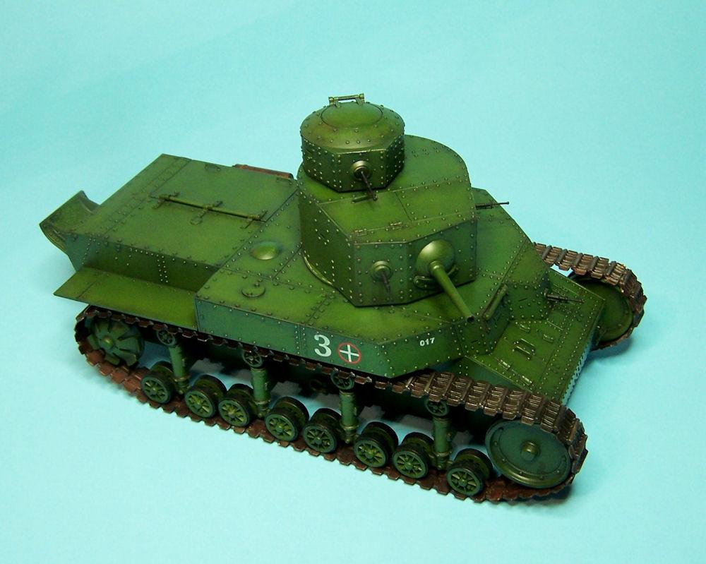 Танк Soviet T-24: 82493: 1/35: Hobby Boss: