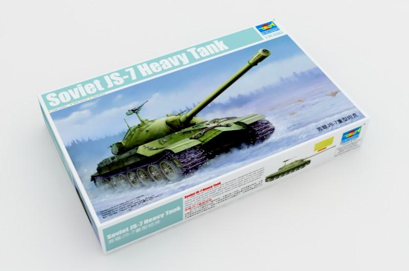 Танк Soviet JS-7 Heavy tank: 05586: 1/35: Trumpeter: