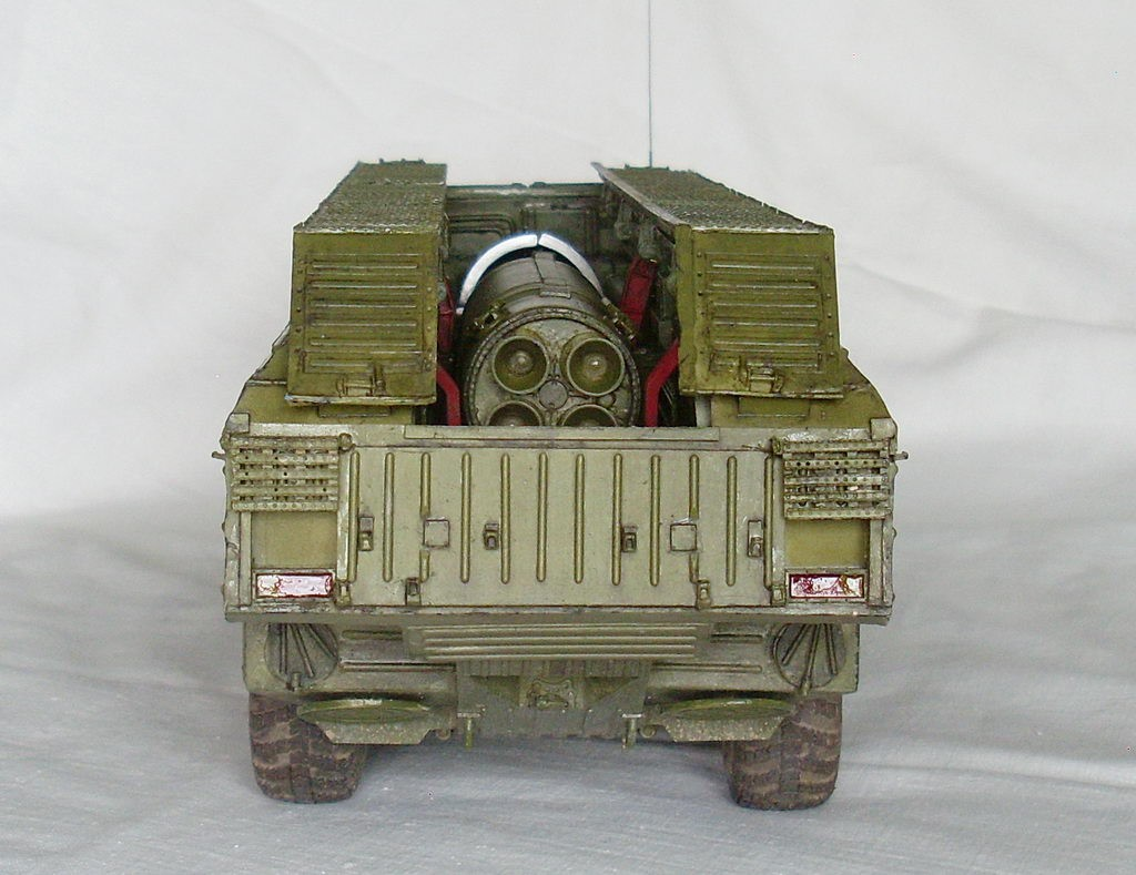 МРК SS-23 Spider Tactical Ballistic Missile: 85505: 1/35: Hobby Boss: