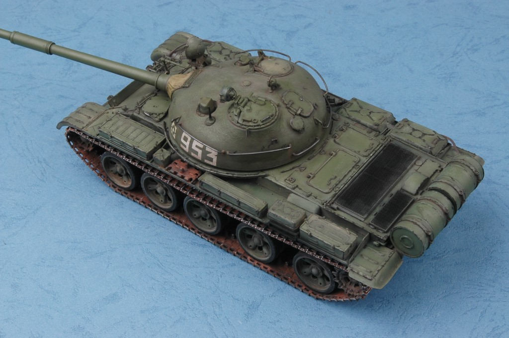 Танк Russian Т-62 M1962: 00376: 1/35: Trumpeter: