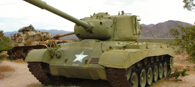 Танк M26 Pershing: 82424: 1/35: Hobby Boss: Тяжеловес из США