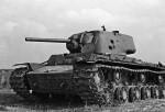 Танк Russian KV-1 M1942 Heavy Cast Turret Tank: 00359: 1/35: Trumpeter: Напарник Т-34