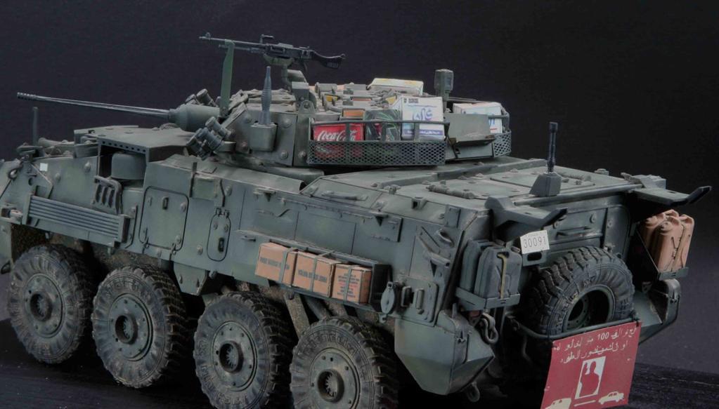 БТР LAV-III Wheeled Armored Vehicle: 01519: 1/35: Trumpeter: