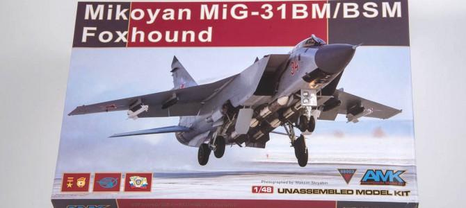 Самолет Mig-31 BM/BSM Foxhound: 88003: 1/48: AMK: Лучший в своем деле