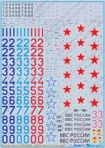 Микоян МиГ-31БМ\БСМ: 48-040: 1/48: Бегемот: Обзор декали для модели Миг-31 от AMK