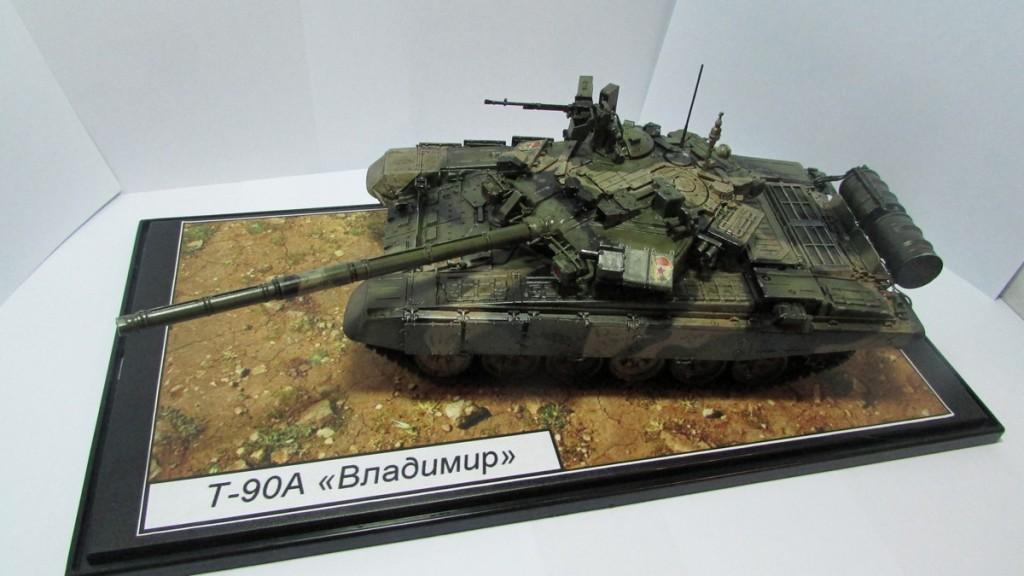 Танк Т-90А: 3573: 1/35: Звезда По имени Владимир