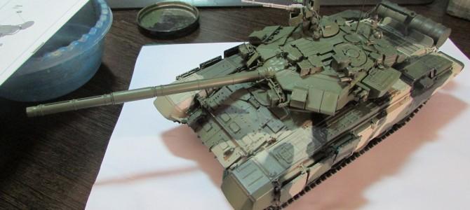 Танк Т-90А Владимир: 3573: 1/35: Звезда: Сборка: Шаг 5