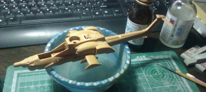 Вертолет Ми-28Н «Ночной охотник»: 7255: 1/72: Звезда: Путевые зарисовки