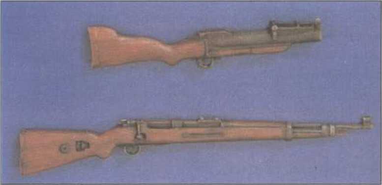 Окраска стрелкового оружия и снаряжения