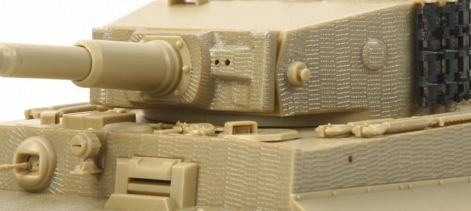 Вафельная  оборона, или Нанесение циммерита на модель