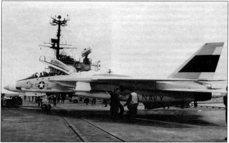 """Палубный истребитель F-14 """"Томкэт"""": История создания. Часть 3"""