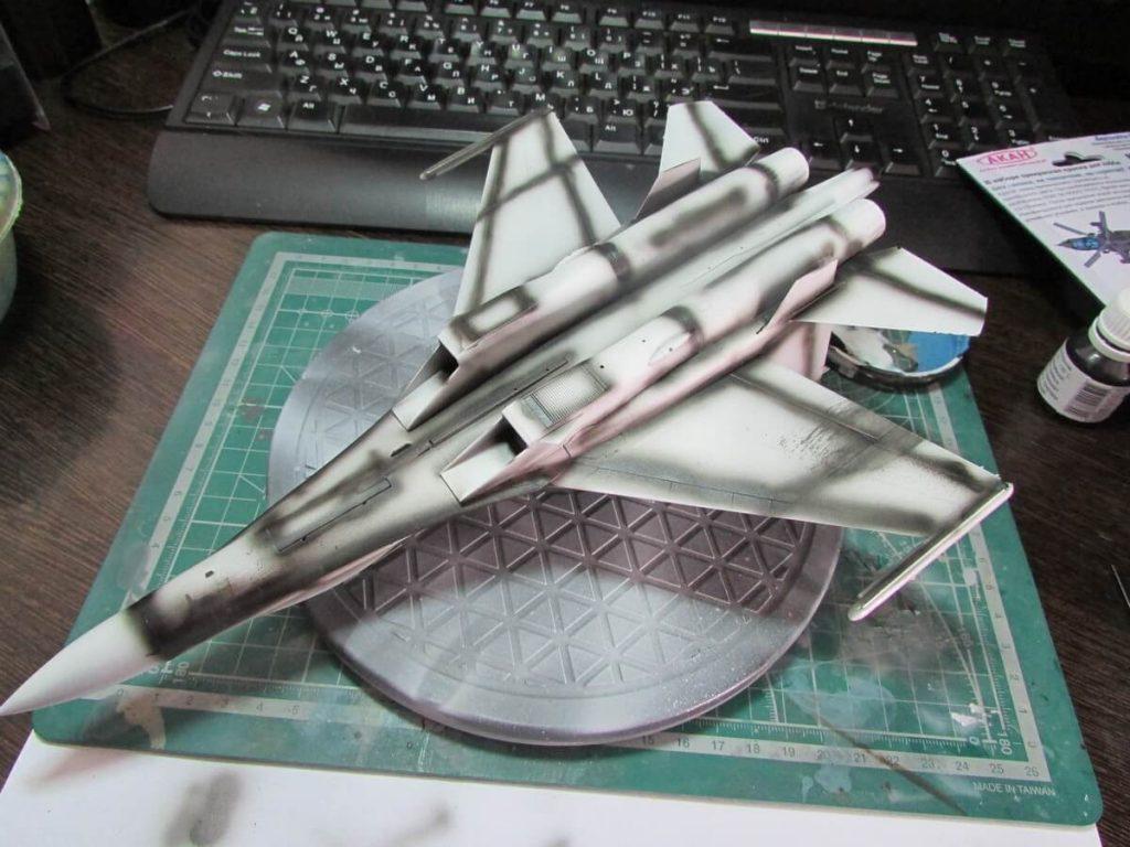 Су-27 УБ Flanker C: 01645: 1/72: Trumpeter: